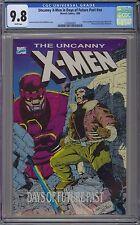 Uncanny X-Men Days of Future Past #nn CGC 9.8 NM/MT Wp TPB Marvel Comics 1989