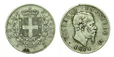 pcc1633_1) Regno Vittorio Emanuele II lire 5 scudo 1874