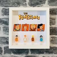 Minifigure Display Frame Lego Ideas Flintstones 21316 minifigs figures