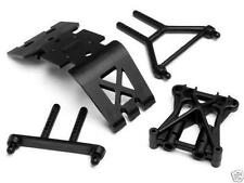 HB 70561 Hot Bodies Skid Plate / Shock Tower Set - E-Zilla 10