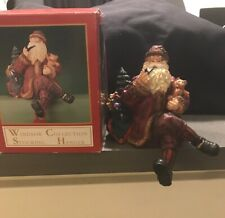 Vintage Windsor Collection Santa Stocking Holder Hanger Item#80269