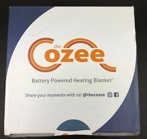 "The Cozee - Battery Operated Heated Blanket (non Electric Blanket) 60 x 60""  NEW"