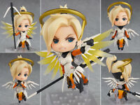 Neu Nendoroid 790 Game Anime Overwatch OW Mercy Classic Skin Action Figur NoBox