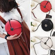 Women Sweet Round Shoulder Bag Messenger Crossbody Purse Handbag Tote Clutch #A