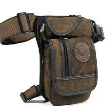 Men's Drop Leg Bag Waist Fanny Pack Belt Tactical Motorcycle Multi-purpose Bags