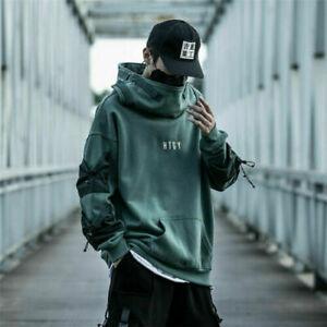 Niepce Hoodie Urban Japanese Streetwear Jacket Mens Pullover