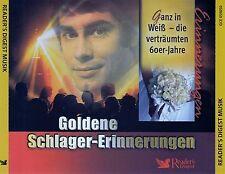 GOLDENE SCHLAGER-ERINNERUNGEN, GANZ IN WEISS, DIE VERTRÄUMTEN 60ER JAHRE, 3 CDs