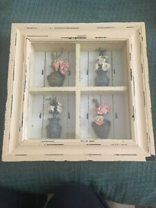 ROSES SHADOW BOX》Wall Hanging or Tabletop》Great Mother's Day Gift