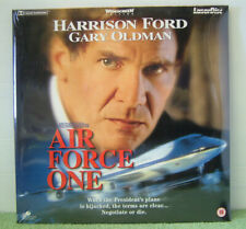 Air Force One Laser Disc. Laserdisc. PAL - DVD O2vg The Cheap Fast Post