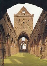 postcard  Scotland Sweetheart Abbey  the nave from the west  posted