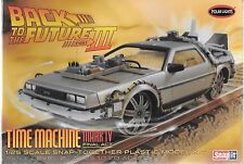 Back to the Future III, Time Machine Mk IV Final Act DeLorean SNAP 1/25 932 ST
