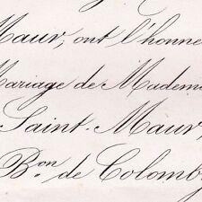 Marie Du Pré De Saint-Maur 1868 Jules Jolivet De Colomby