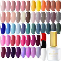 BORN PRETTY 6ml UV Gel Nail Polish Soak off Black White Red Nail Art Gel Varnish