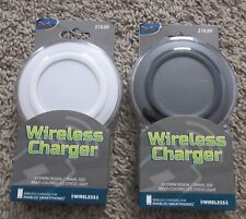 Smart Phone Wireless Charger Lot Of 2 Portable Charging Pad New Smartphone