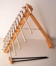 Vintage Collectible Xylophones Musical Instrument HEESH German Wood & Metal Rare