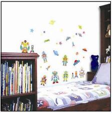 Large Robot UFO Space Rocket Wall Sticker Decal Vinyl Art Home Decor 70 x 50CM