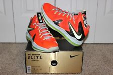 "Nike LeBron 10 X Elite ""Bright Crimson"" Size 10.5"