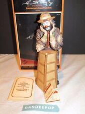 Emmett Kelly Jr Signature Collection Why Me? Hobo Clown at Podium Ltd Ed Flambro