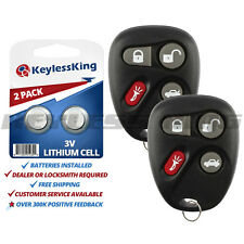 Fits 2001-2005 Cadillac Deville Entry Remote Key Fob 25695954 25695955 2x