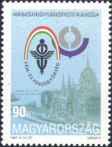 Hungary 1997 World Customs' Union Conference/Buildings/Logo/Emblem 1v (hx1211)