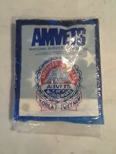 New - Valley Forge Flag Co. for AMVETS   3' X 5' Nylon AMERICAN FLAG  Sealed Bag