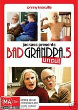 Jackass Presents: BAD GRANDPA .5 UNCUT : NEW DVD