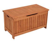 Auflagenbox Holz Kissenbox Gartenbox Kissentruhe Gartentruhe COMODORO 88x45cm