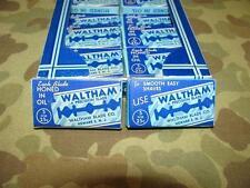 Razor Blade/lamette da barba-Waltham-US Army wk2 WWII Eto