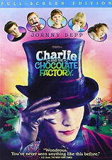 Charlie and the Chocolate Factory (Dvd, 2005, Full Frame) - Disc Only