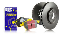 EBC Front Brake Discs & Yellowstuff Pads for Toyota Previa 2.4 (ABS) (93 > 97)