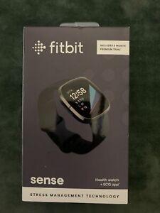 Fitbit Sense Advanced Activity Tracker Smartwatch - Carbon/Graphite