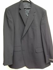 "NEW MENS DIGEL NAVY PIN STRIPE SUIT JACKET BLAZER  SIZE 54"" CHEST 2XL XXL"