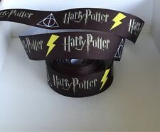YARD HARRY POTTER WIZARD MOVIE DEATHLY HALLOWS CHARACTER GROSGRAIN RIBBON