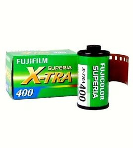1 x Roll FUJI SUPERIA XTRA 400 COLOR NEG--35mm/36 exps--NO BOX--expiry: 10/2023