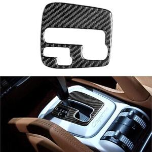 For Porsche Cayenne Sport 2003-2010 Carbon Fiber AT Gear Shift Panel Cover Trim