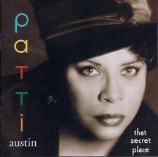 Patti Austin - That Secret Place  -  New Factory Sealed CD