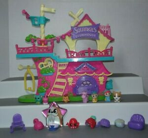 Squinkies 'do Drops Squinkieville Clubhouse playset and figures