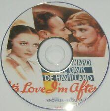 COM DRAMA 047: IT'S LOVE I'M AFTER (1937) Archie Mayo Leslie Howard, Bette Davis