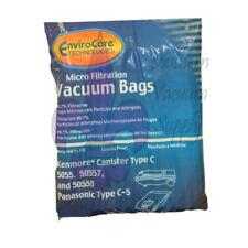 Kenmore C Vacuum Cleaner Bags for  5055, 50558, 50557 & Panasonic C-5, 9 Bags