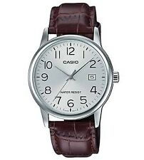 original casio leather watch for men mtp-v002l-7b2udf