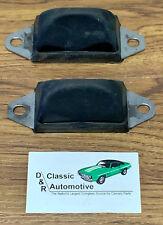 1967 Camaro Rear Axle Bumpers w/ Bracket Firebird Impala for wheel wells