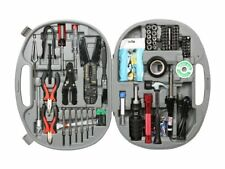 Computer Network PC Tool Kit Technician Service Repair Case Laptop Set 146 Piece