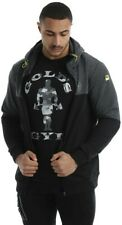 Gold's Gym UK Men's Mens Workout TrainingZip Through contrast Hoody. ( Size L)