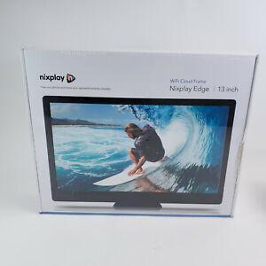 "Nixplay Edge 13"" Wi-Fi Cloud Digital Photo Frame, FHD 1080p"