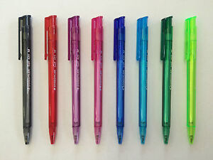 Staedtler Ball 423 Retractable Pen - 8 colours to choose from!