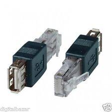 Adattatore USB Femmina a RJ45 Maschio USB a RJ45 (8P8C) SOLO PER ALIMENTAZIONE