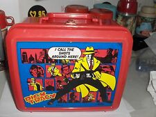 Dick Tracy,Disney-Private Eye..I Call The Shots,Aladdin Ind,Plastic Lunchbox