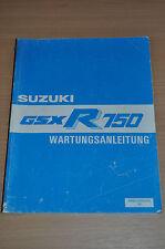 Werkstatthandbuch Wartungsanleitung SUZUKI GSX R 750 1985 Motor Elektrik
