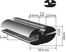 MTS BELARUS Oldtimer Fenstergummi Scheibengummi Profilgummi  2/5 mm