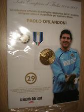 MEDAGLIA N° 29 INTER CAMPIONE D'ITALIA 2007 ORLANDONI